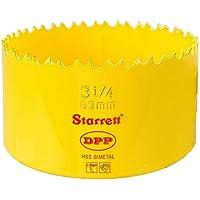 """Starrett DH0314 - Broca de corona bimetal (83 mm, 3,1/4"""")"""