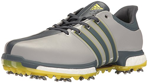 adidas Men's Tour 360 Boost WD Ltonix Golf Shoe, Grey, 12 2E US