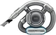 Black+Decker 14.4V Lithium Flexi Auto Dustbuster Car Vacuum with Pet Tool, Blue/Grey - PD1420LP-GB