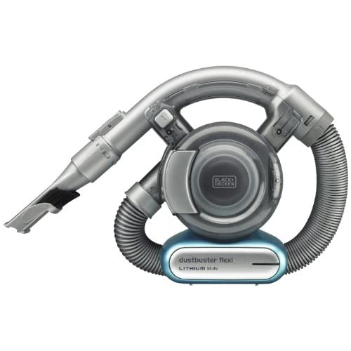 BLACK+DECKER PD1420LP-GB 14.4 V Lithium-Ion Flexi Vacuum, Blue