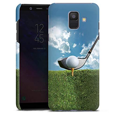 DeinDesign Samsung Galaxy A6 2018 Hülle Premium Case Cover Golf Golfschlaeger Sport