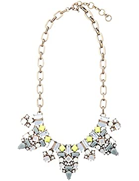 "Happiness Boutique Damen Statement Kette ""Be Beautiful"" in Gelb"