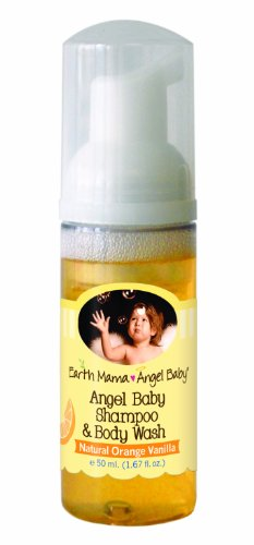 Earth Mama Angel Baby Shampoo & Body Wash Travel Size (50ml) by Earth Mama Angel Baby