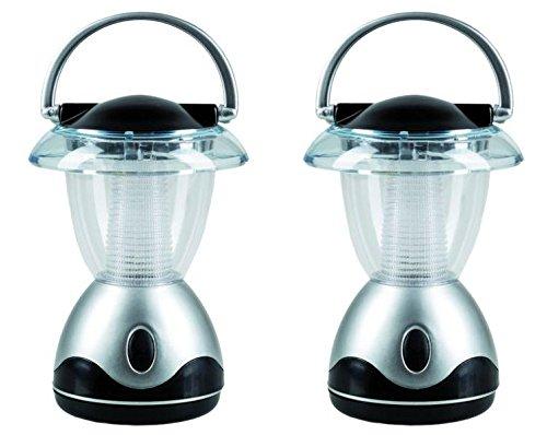 2er Set LED Campinglampe | Outdoor Lampe | LED Leuchte | Gartenlaterne | 4 LEDs