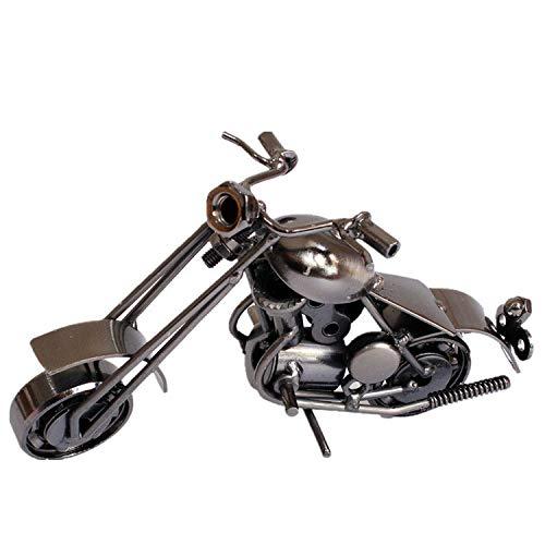 qwe Retro Eisenkunst Motorrad Modell Mode Einfach Büro Cafe Dekoration Kreativ Metall Verarbeiten Geschenk