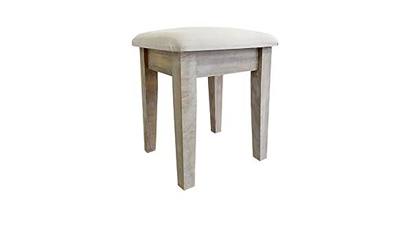 Rebecca srl sgabello sedia panca seduta imbottita argento bianco