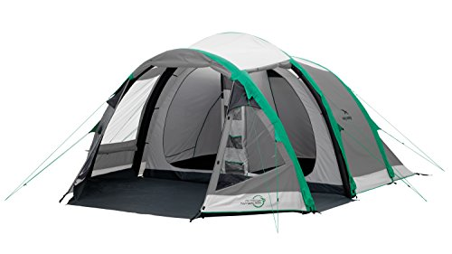 easy camp  tornado 500 unisex outdoor tunnel tent available in grey - 5 persons