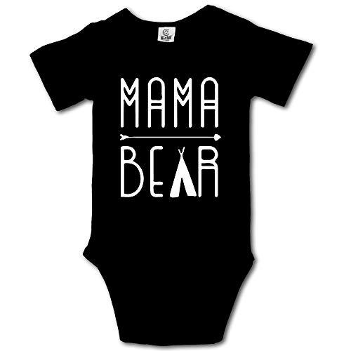 HUDS VIFV Mama Bear Mom Baby Unisex Short Sleeve Onesies Bodysuits