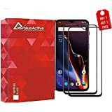 Valueactive Screen Guard for OnePlus 7 Tempered Glass 6D Full Cover Edge-Edge Anti-Scratch Anti-Fingerprint Tempered Glass for OnePlus 7 with Easy Installation kit (OnePlus 7 6D) (Pack of 2)