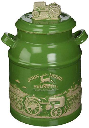 M. Cornell Importeure John Deere Milch kann Cookie Jar, grün (Grünes Glas Cookie Jar)