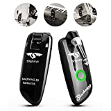 Swiff New UHF Blackwing Design Rechargeable Guitar Wireless Transmitter Receiver System - Max