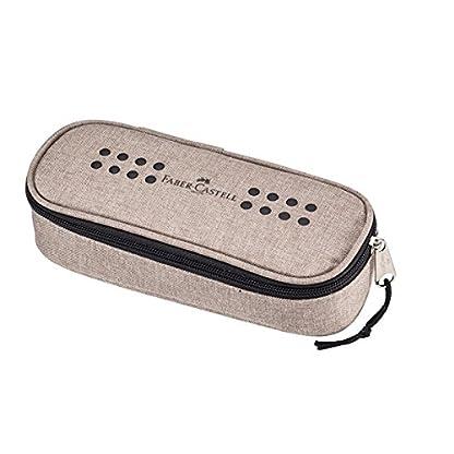 Faber-Castell Grip Soft pencil case Poliéster Arena – Estuche (60 mm, 210 mm)
