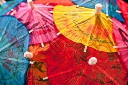 feelingathome. IT, Druck auf Leinwand 100% Baumwolle Galerie Schirm des Cocktail IV cm 81x 122(Abmessungen personalisierbar auf Anfrage)