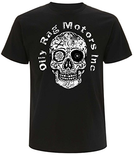 Oily Rag Herren T-Shirt schwarz schwarz Gr. M, schwarz (Und Bone Rag Herren)