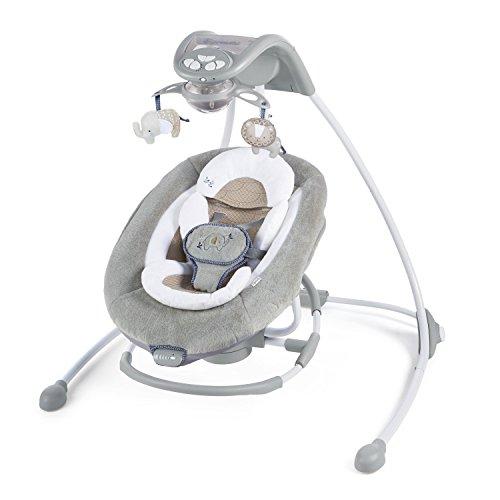 Ingenuity, Babyschaukel und -wippe mit Lichtern, Townsend