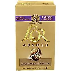 L'OR Absolu Café Moulu 1kg (Lot de 4x250g)