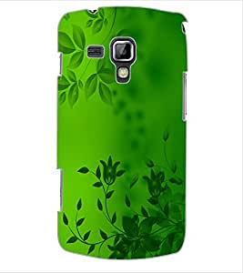 ColourCraft Beautiful Pattern Design Back Case Cover for SAMSUNG GALAXY S DUOS S7562