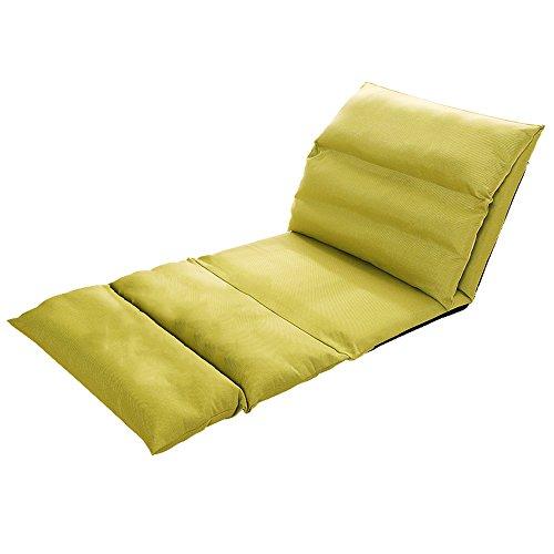 Mode Canapé créatif/paresseux / Canapé pliant/Canapé pliable portable/Creative Canapé paresseux multifonction (2 couleurs à choisir) (Couleur : Vert)