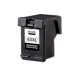 Tintenpatrone, Ersatz für HP 3630 OfficeJet 4520 4650 Drucker kompatibel mit HP63XL HP2130