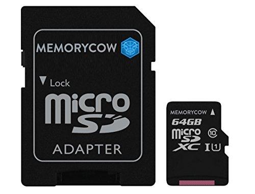Kingston 64GB Micro SD XC Speicherkarte Für Sony hdr-pj410Camcorder