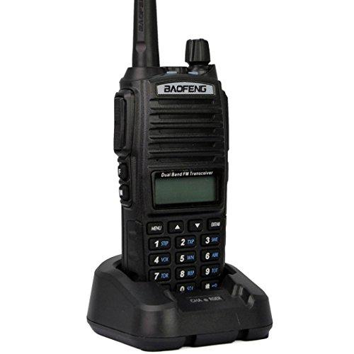 BAOFENG UV-82 136-174 / 400-520 MHz Radio, schwarz (Uv-kanal Licht)