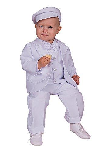 0f83ec4decb81 Boutique-Magique Costume Blanc bébé baptême garçon Complet