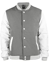 Hombre Oldschool Para College Técnica Bekleidung Jacket Chaqueta Urban Classics qx8FHwv