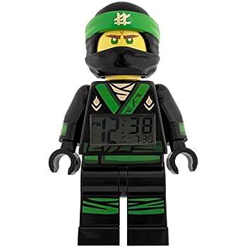 LEGO NINJAGO MOVIE 9009204 Lloyd Kids Minifigure Light Up Alarm ...