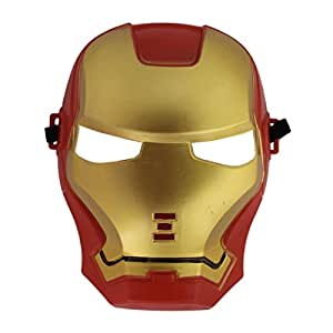 Super Hero Iron Man Camouflage Face Mask Cosplay for Party