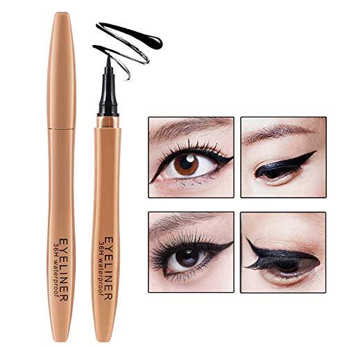 Liquid Waterproof Eye Makeup Remover (Ardorlove Quick Dry Waterproof Eyeliner Pen Long-Lasting Smudge-Proof Liquid Eyeliner Cosmetic)