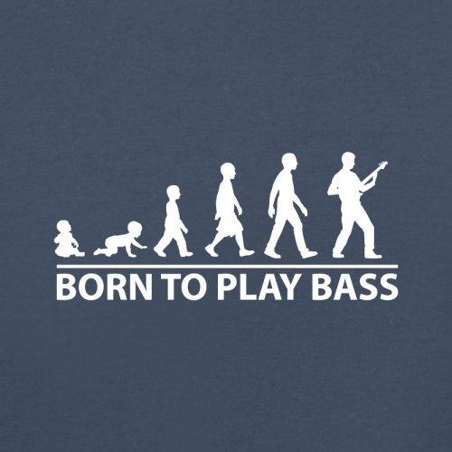 Born To Play Bass - Herren T-Shirt - 13 Farben Navy
