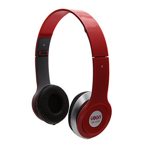 UBON UB-1250 MP3 On Ear Headphone With ubon Pure Bass For All Smart Phones And Laptop