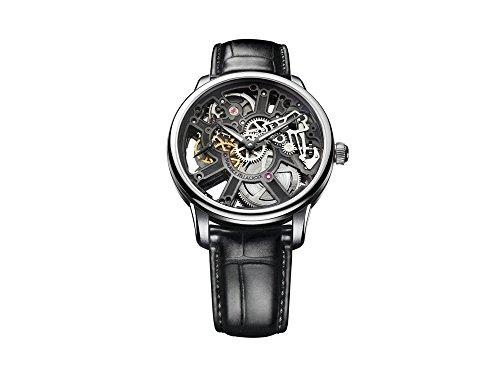 Maurice Lacroix capolavoro scheletro orologio, ML134, coccodrillo, mp7228-ss001-000-2