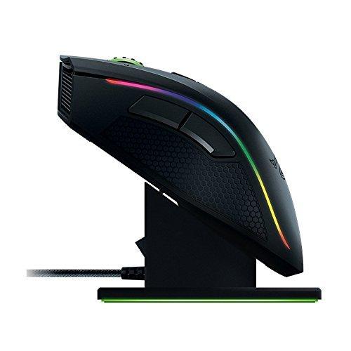 Razer Mamba Wireless Edition RGB Beleuchtete Ergonomische Gaming Maus (Präziser 16.000 dpi Sensor mit 9 programmierbaren Tasten) - 5