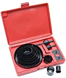Rolson 58139 - Kit para sierra perforadora eléctrica (16 piezas)