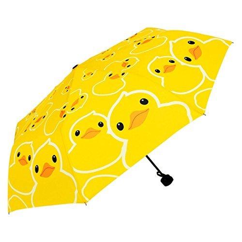 mylifeunit Badeente Automatischer Regenschirm faltbar Compact