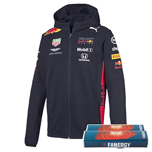 Red Bull Racing Team Zip-Hoodie 2019 + FANERGY Traubenzucker (L)
