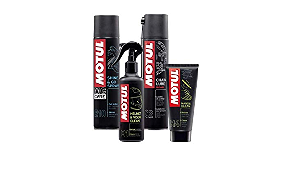 Motul Cleaning Kit For Motorcycles Cleaning Helmet Polishing Moto Grease Chain Hand Cream Mc Care Tm M1 M4 E10 C2 Auto
