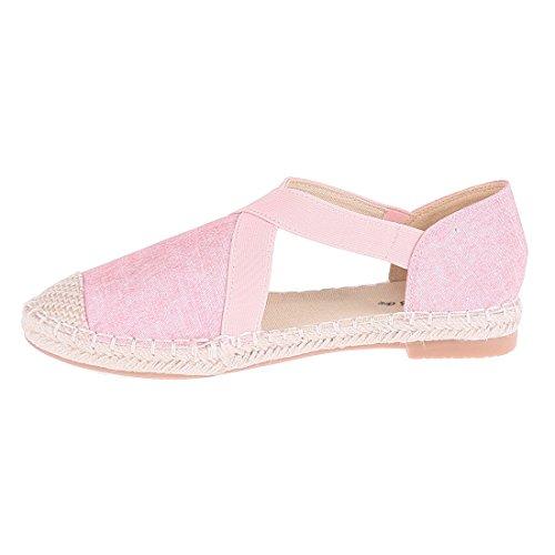 CATISA-bal4_fd258, Ballerine donna Rosa (rosa)