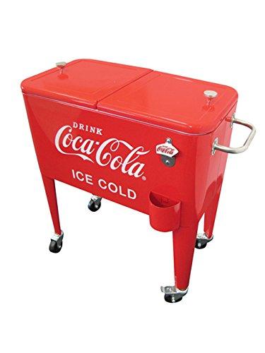Leigh Country CP 98108 Retro Metall Coca-Cola Kühler, 60 Liter