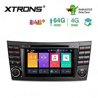 XTRONS-7-4GB-RAM-64GB-ROM-Android-Autoradio-mit-Touchscreen-Octa-Core-Android-90-DVD-Player-Autostereo-untersttzt-3G-4G-Bluetooth-DAB-OBD2-CAR-Auto-Play-TPMS-FR-Mercedes-Benz