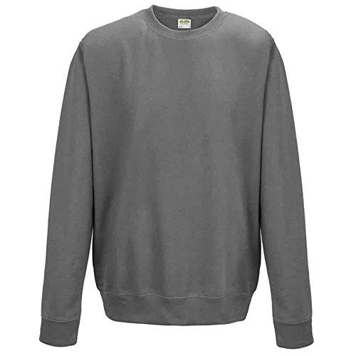 AWDis -  Felpa  - Uomo Steel Grey Large