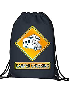 Golebros Camper Crossing–Sacca, Adulti (unisex), blu navy