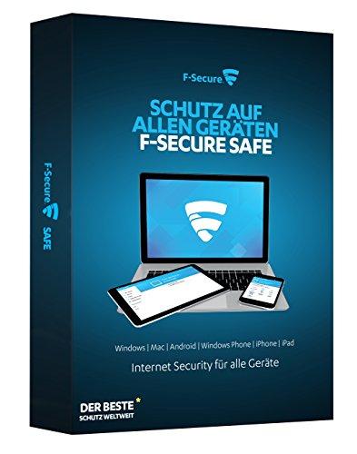 F-Secure SAFE Internet Security 2016 - 1 Jahr / 3 Geräte - Liege Schreibtisch