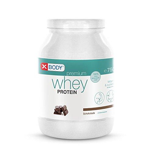 WHEY Protein Isolat XBODY Premium Eiweißpulver (Schoko)