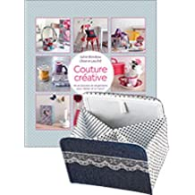 Couture créative + Boîte couture pliable. 46 accessoires et rangements pour l'atelier et la maison