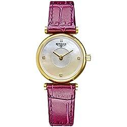 Ladies leather strap watch/ fashion diamond Women Watch/Waterproof quartz watches-A