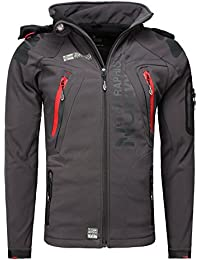 Geographical Norway Homme Outdoorjacken Capot