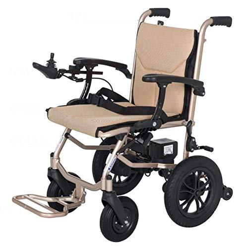 Daxiong Verbesserte elektrische Rollstuhl smart Lithium-Batterie behinderte ältere Menschen können im Flugzeug Reisen, doppelte Kontrolle.