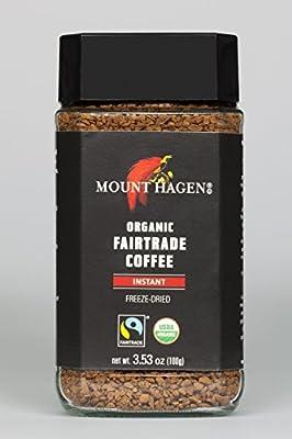Mount Hagen Organic Freeze Dried Instant Coffee, 3.53 oz by Mount Hagen